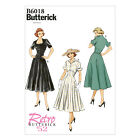 Butterick 6018 Retro '52 Sewing Pattern to MAKE Rockabillity Flared Dress