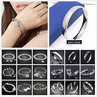 On Sale price  Fashion Jewellery  Solid 925Silver chic Bracelet/Bangle Lady Mens