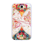 Vintage World Map Plastic Case Cover For Samsung Galaxy S4/Note 2/Note 3 1PC