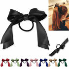 Stylish Cute High Quality Women Satin Ribbon Bow Multicolor Hair Band