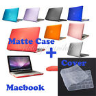 Frosted Matte Rubberized Hardshell Hard Case Cover Apple MacBook+ Keyboard Cover