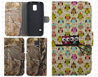 For Samsung Galaxy S5 Premium Leather  Wallet Case Pouch Flip Cover