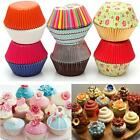 50Pcs Paper Cake Cup Cupcake Cases Liners Muffin Kitchen Baking Wedding Party