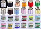 1Roll Rattail Satin Nylon Cord Beading Macrame Craft Jewellery DIY String Thread
