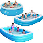 BESTWAY LARGE PADDLING GARDEN POOL KIDS FUN FAMILY SWIMMING OUTDOOR INFLATABLE