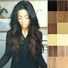 "15""18""20""22""24""26""28"" New Hot Sell 100% Remy Real Clip In Human Hair Extentions"