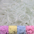 600 UV Magic Change Color Rubber Bands 24 Clips 1 Hook For Rainbow Loom Refill