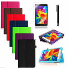 Leather Case Cover For Samsung Galaxy Tab 4 7.0 7 inch SM-T230 Screen Protector