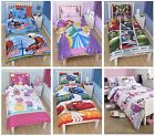 Official Kids Disney + Character Single Duvet Covers - Children's Bedding Sets