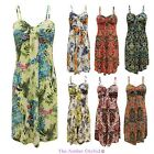 NEW LADIES WOMENS PAISLEY PRINT STRAPPY HOLIDAY WEAR SUMMER BEACH MAXI DRESS