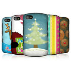 HEAD CASE MIX CHRISTMAS COLLECTION SNAP-ON BACK COVER FOR BLACKBERRY 9720