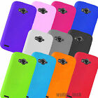 For ZTE Savvy, Reef, Awe Silicone Gel Skin Flexible Grip Case Soft Cover