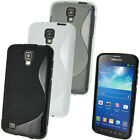 S Line TPU Gel Skin Case Cover for Samsung Galaxy S4 Active I9295 + Screen Prot