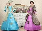 NWT sexy woman Victorian Gothic Period bow Dress Ball Gown Theare Clothing