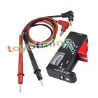 Universal AA AAA Button Cell Battery Volt Tester+Multimeter Test Lead Wire Probe