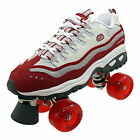 Skechers Ladies 4 Wheeler Quad Roller Skates Wheelies Red Trainers  Size 4 5