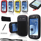 LOVE MEI Waterproof Shockproof Aluminum Gorilla Metal Cover for Galaxy S3 i9300