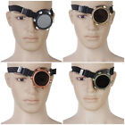 Monocle VICTORIAN EDWARDIAN Steampunk Gothic Monovision Eye Patch Goggle Cosplay