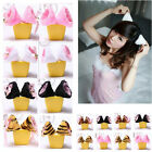 Sexy Cosplay Party Cat Fox Long Fur Ears Costume Hair Clip Hairpin Fancy Dress