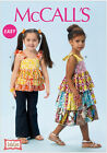 McCall's 6946 Sewing Pattern to MAKE Easy Tiered Top, Dress & Trousers