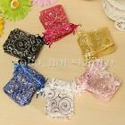 100X Luxury Organza Wedding Party Favor Candy Gift Bags Jewellery Packing Pouch