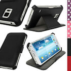 PU Leather Slim Case Cover Holder for Samsung Galaxy S5 SV SM-G900 + Screen Prot