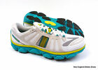 Brooks Pure Flow 2 running shoes sneakers for women - White / Tile Blue / Lime