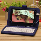 """iRULU 7"""" Tablet PC 8GB Android 6.0 Quad Core 1.3GHz WIFI GSM with Keyboard"""