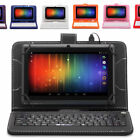 "Irulu 7"" Tablet Pc 8gb Android 6.0 Quad Core 1.3ghz Wifi Gsm With Keyboard"