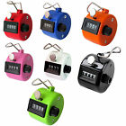 4 DIGIT TALLY COUNTER PALM CLICKER GOLF MANUAL HAND HELD NUMBER COUNTING TASBIH