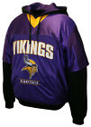 Minnesota Vikings NFL Pullover Drive Jersey Hoodie Team Football Sweatshirt NEW on eBay