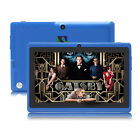 "IRULU 7"" Dual Core Camera Tablet PC Android 4.2 16GB 1.5GHz WIFI Blue w/ TF Card"