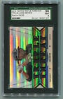 2011 TOPPS TRIBLE THREADS JOSE RYES RELICS 4/36 SGC 9