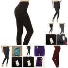 SOFRA FOOTLESS LONG light weight LEGGINGS ONE SIZE style (EX900/LG900)