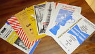 Football Programmes Various Early Round FA Cup Matches Rare inc Hull Grantham