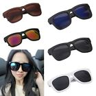 Large Frame Wayfarer Mens Womens Classic Sunglasses Vintage Retro Aviator UV400