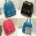 Girl's Faux Leather Fashion Backpacks Hand Bags Gifts Single Shoulder Bags FP166