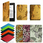 PU Leather Case Cover 2012-2015 All-New Amazon Kindle Paperwhite 6 Wake / Sleep