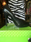 *REDUCED* Snakeskin Platform Shoes with Elegant Stiletto Heels and Red Lining