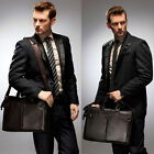 Mature Man's Shoulder Bags Real Leather Briefcases Laptop Bags Tote Bags AR143