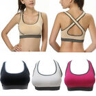 New Seamless Yoga Sports Bra Crop Top Vest Comfort Stretch Bras Shapewear Padded
