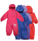 Regatta Puddle II Kids Waterproof & Breathable Rain Suit All In One Full Zip