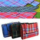 Large Waterproof Portable Picnic Blanket Mat Camping Beach Festival PVC 1.5 x 2M