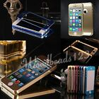 Luxury UltraThin Metal Aluminum Alloy Case Cover Bumper Protector For iPhone 5S