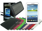 Leather Case+Screen Cleaner Pad+Stylus for Samsung Galaxy Tab 3 7.0