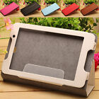 "PU Leather Case 2 Fold Folio Cover for Lenovo IdeaTab A7-50(A3500) 7"" Tablet PC"