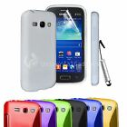 S LINE GEL SILICONE RUBBER CASE COVER SAMSUNG GALAXY ACE 3 S7272
