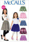 McCall's 6984 Easy Sewing Pattern to MAKE A Variety of Girls' Skirts 5 Styles
