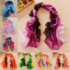 2014 Fashion Girls Womens' Long Soft Wrap Lady Shawl Silk Chiffon Scarf W048