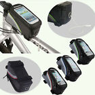 "Bike Bicycle Frame Panniers Front Tube Bag Case for Mobile Phone 5.5""/4.8""/ 4.2"""